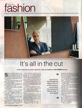 Sunday Canberra Times, September 21, 2008