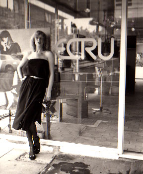 1975-85 Ecru opened in 1975 in Melbourne's South Yarra